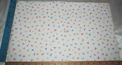 1980s Dollhouse Miniature 1:12 Scale Wallpaper Triangle Pattern - See 100+ More!