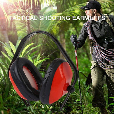 Noise Reduction 20dB Sport Hunting Tactical Ear Hearing Protection Earmuff