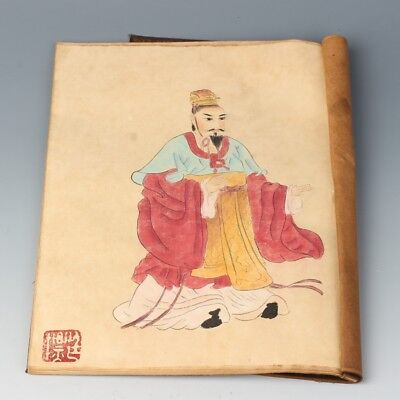 Chinese Exquisite Handmade Character pattern Calligraphy and painting