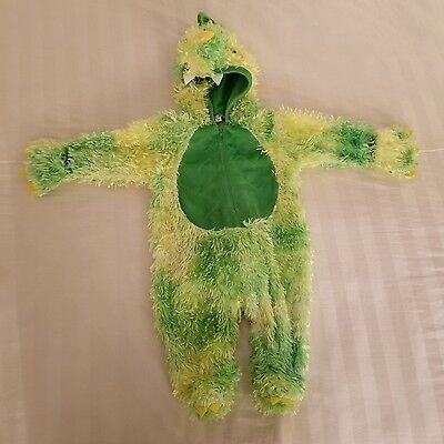 Dinosaur Costume 3 months le top Halloween Green Yellow (4A)