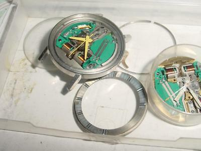 Vintage BULOVA / ACCUTRON 214 Spaceview watch case and movements [parts]