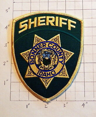 Bonner County (Sandpoint,ID) Sheriff's Office Patch             ***NEW***