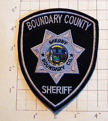 Boundary County (Bonners Ferry,ID) Sheriff's Office Patch         ***NEW***