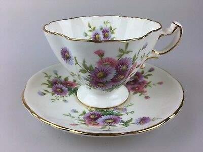 Vintage - Duo - Cup & Saucer By Hammersley & Co. No. 4149 - Bone China England