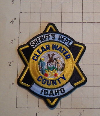 Clearwater County (Orofino,ID) Sheriff's Department Patch      ***NEW***