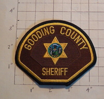 Gooding County (ID) Sheriff's Office Patch               ***NEW***