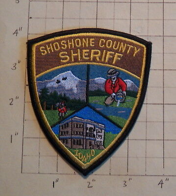Shoshone County (Wallace,ID) Sheriff's Office Patch           ***NEW***