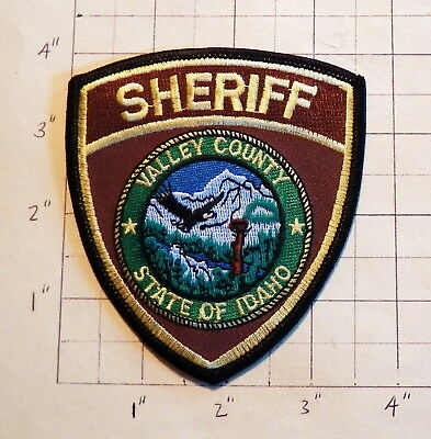 Valley County (ID) Sheriff's Office Patch           ***NEW***