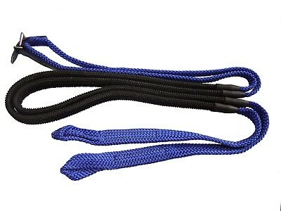 Western/Stock/GP Horse Reins Tubular Soft Nylon Braided ~ Loop End~ Many Colours
