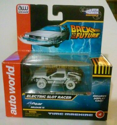 AUTO WORLD Delorean Back To The Future BTTF HO Slot Car. Fits AW, AFX