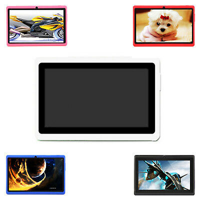 """7""""HD Touch screen Android 4.4 Quad Core Dual Camera Tablet PC BT Brand NEW"""