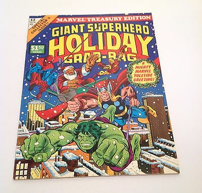 Marvel Treasury Edition #13 Giant Superhero Holiday Grab Bag 1976