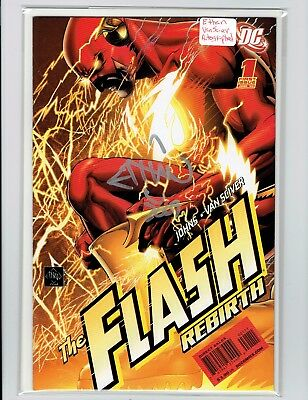 The Flash Rebirth #1 2009 Ethan Van Sciver Signed