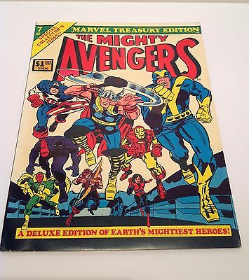 Marvel Treasury Edition #7 The Avengers 1975