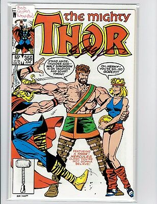 The Mighty Thor #356 Signed Bob Layton