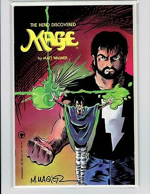 Mage The Hero Discovered #1 1984 Matt Wagner Signed