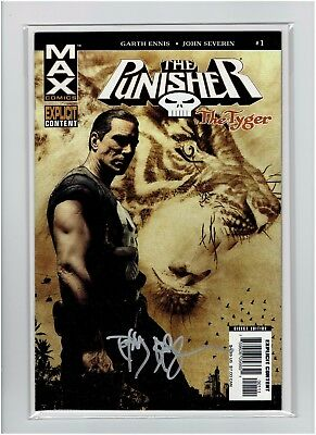 The Punisher The Tyger #1 Tim Bradstreet signed