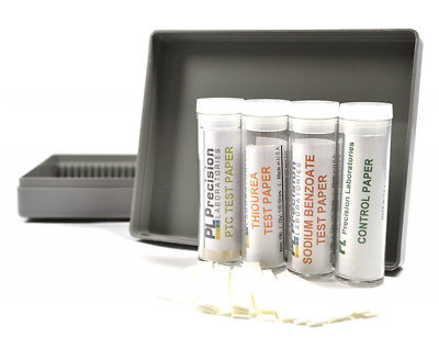 Super Taster Test Kits with Storage Case and Instructions - Lab Quality - Classr