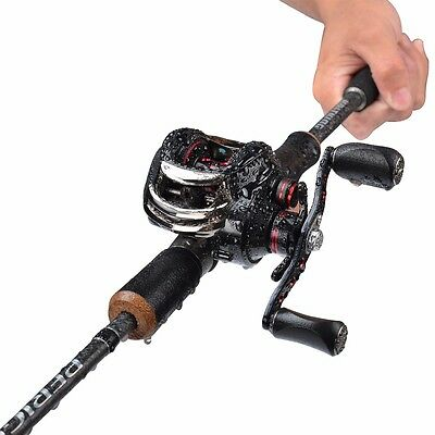 NEW KastKing Carbon Fishing Rod 1.98M 2 Tip MF & MH Actions 7-14gWeight Casting