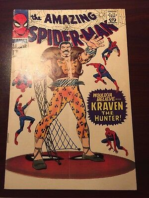 Marvel Comics Amazing Spider-Man #47 April 1967 Very Good/FN