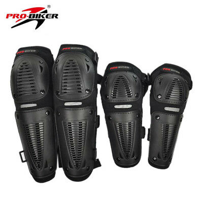 1 SET Motorcycle MTB Protection Scooter Racing Knee&Elbows Pads Protector Guards