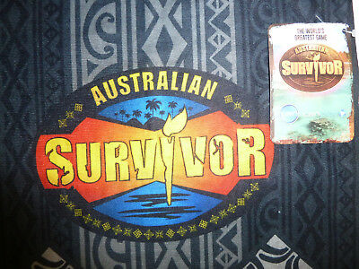 SURVIVOR BUFF SCARF:  Australian Survivor 2017 Buff Scarf BRAND NEW