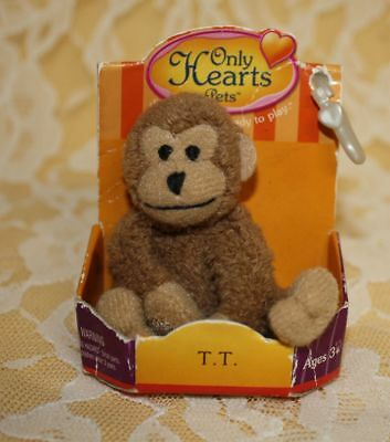 """Only Hearts Pets """"tt The Baby Monkey"""" Only Hearts Club Rare"""