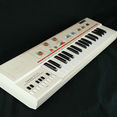 1980's Casio MT-40 Casiotone Portable Electronic Keyboard Vintage 80's Classic