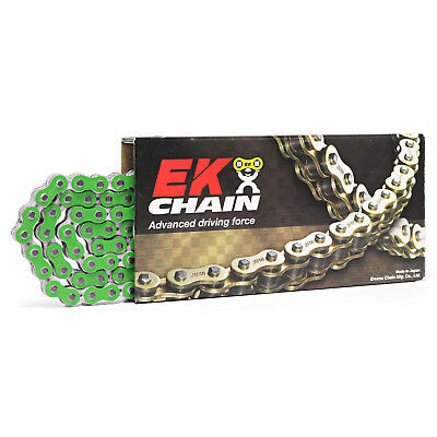 EK Chains NEW Mx 520 MRD7 Heavy Duty Metallic Green 120L Motocross Race Chain
