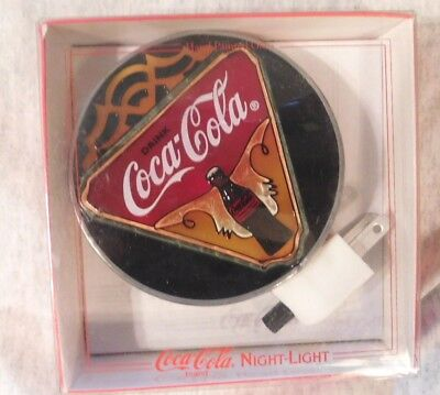 Coca Cola Night Light  Lite Brand In Package  New Never Used Coke