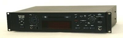 TASCAM TEAC MD-350 Black MD deck MDLP compatible business use Used