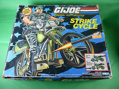 "6791   GI Joe Strike Cycle für 12"" Großfiguren  NOS - Ladenfund"