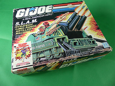 6172  GI Joe SLAM Machine Gun Set Tape Sealed  Lagerfund NOS 1987
