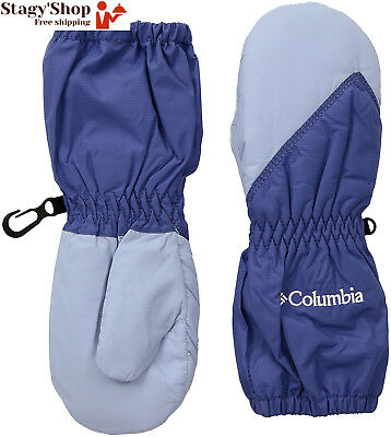 Columbia Toddler Chippewa™ Long Mitten Eve, Faded Sky (Kids)