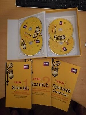 BBC Complete Spanish Course - 4 CD's P1&P2 Guide & grammer book - As New