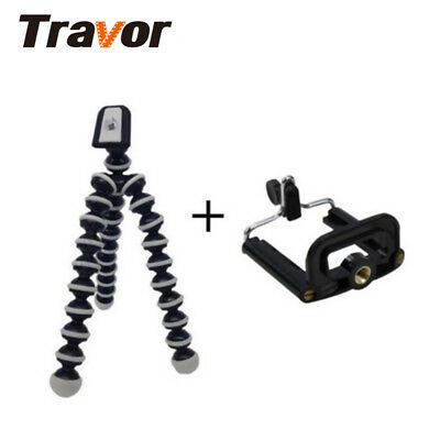 For Camera Phone Portable Mini Flexible Tripod Octopus Stand