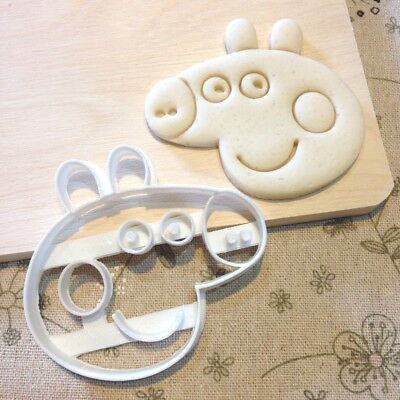 Peppa Pig Cookie Cutter Fondant Cake Cupcake Topper Baby Shower Pepper Birthday