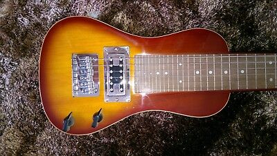 Revelation Steel Lap Guitar, beautiful condition, 2 tone sunburst colour