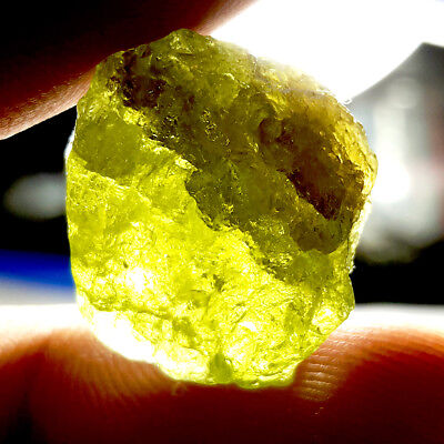22.7 ct. Natural Green Grossular Mali Garnet Rough Specimen