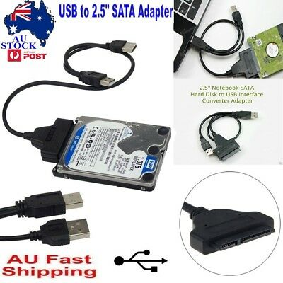 AU 2.5 Notebook SATA Hard Disk to USB Interface Converter Adapter