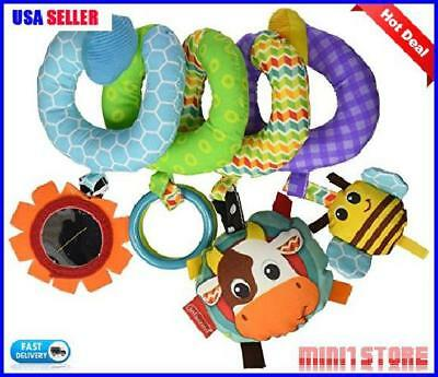 Activity Toy Infantino Spiral , Blue New & Fast Shipping