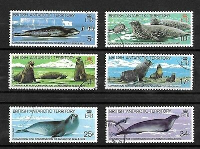 British Antarctic Territory Set - 1983 - Seal Conservation - used