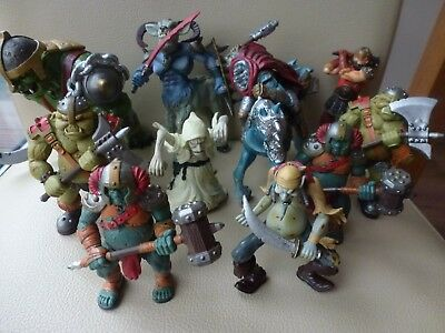 Great Job Lot Bundle of ELC Action Figures - Fantasy Knights Troll Pirate