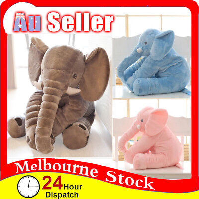 Elephant Plush Doll Soft Stuff Toys Baby Children Long Nose Lumbar Pillow Gift