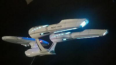 **Built To Order** USS Enterprise With Active Fibre Optic & LED Lighting