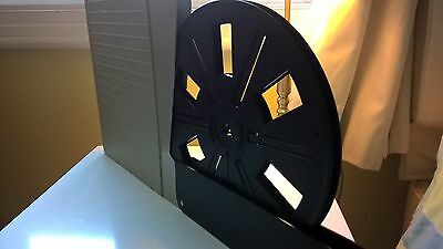 Bolex Super 8mm Film 800ft Take-up Spool with Library Case (VGC)