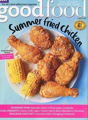 Good Food Magazine: August 15: Subscriber Cover: Summer Fried Chicken