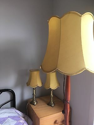 Vintage Standard Lamps With Shades