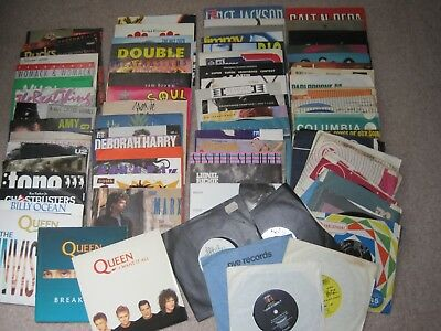 "Job Lot Vinyl 7"" - Singles, 45's - At least 80 records"