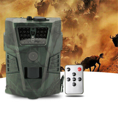 HD 1080P 12MP Digital Hunting Camera Outdoor Animal Trail Scouting IR LED Cam